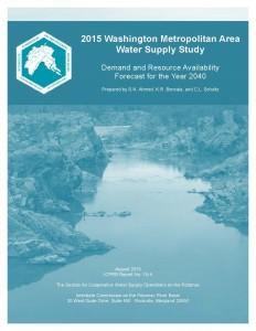 Cover Image: 2015 Washington Metropolitan Area Water Supply Study