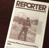 Photo of an old, paper Potomac Basin Reporter