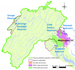 Washington metro area water supply