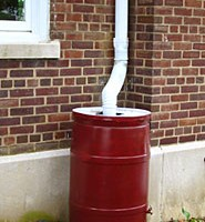 Instructions on building a rain barrel.