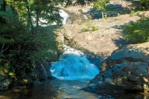 The waterfall at Cunningham Falls State Park